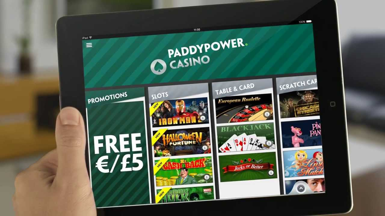 Mobile casino paddy power