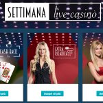 StarCasinò: Bonus settimana Live Casinò