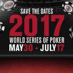 WSOP 2017 al via: programma completo.