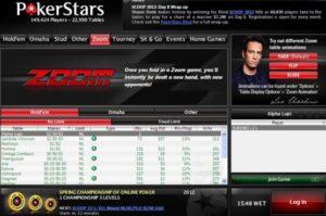 zoom poker pokerstars