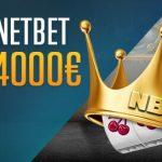 Bonus casino NetBet tutti i giorni