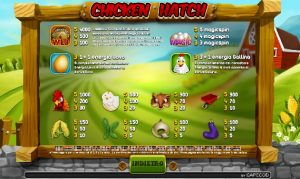 Chicken Hatch slot online BetNero: regole e simboli