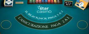 blackjack online starcasinò