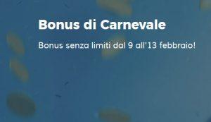 StarCasinò Bonus di Carnevale No Limits