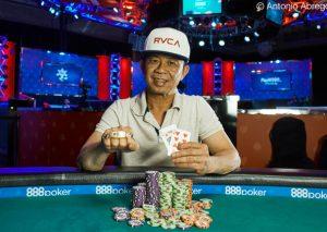 Poker live, il ritorno di David Pham: vinti 456mila dollari