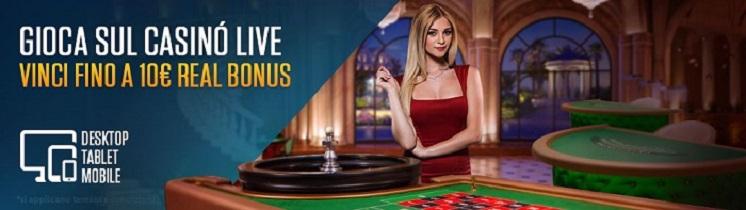 Gioca tutto al casino