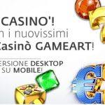 Betaland, arrivano nuove slot firmate GameArt